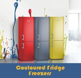 Coloured Fridge Freezers