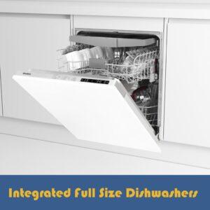 Fully Integrated Full Size Dishwashers